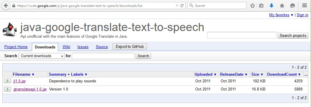 How to enable Text to Speech in JavaFX and Swing Applications