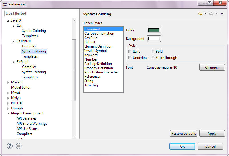 1-41 Preferences_JavaFX_CSSExtDsl_Syntax_Coloring